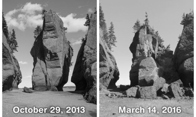 Hopewell Rocks tourists get new safety warnings for after rock collapse