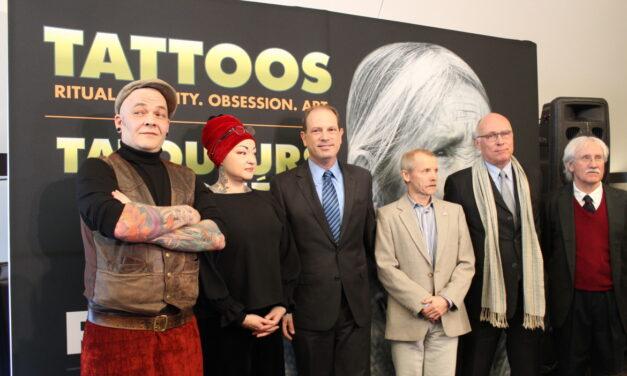 Royal Ontario Museum unveils tattoos exhibit