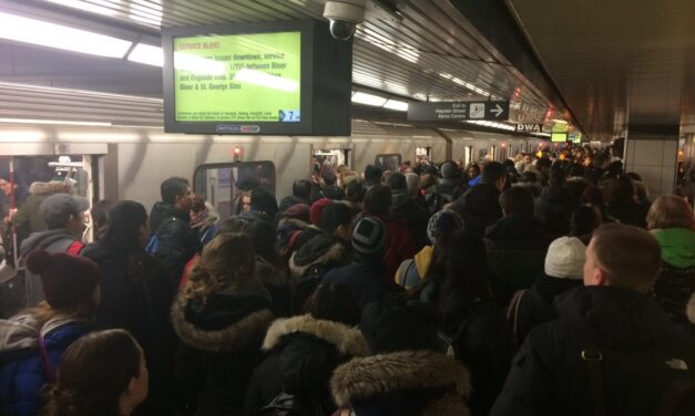 Power outage, winter storm compound TTC woes