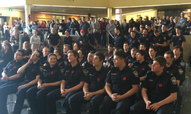 Remembrance Day: Moment of silence at Humber