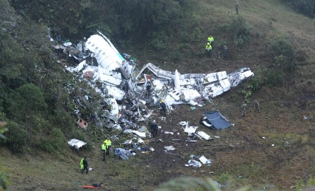 UPDATED: Colombia plane crash: 71 killed including most members of soccer team