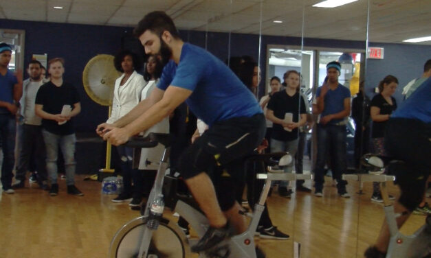 Spin cycle: Humber students raise awareness – and money