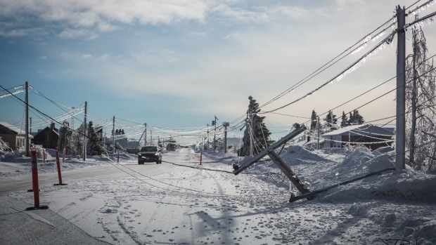 Military deployed after New Brunswick ice storm