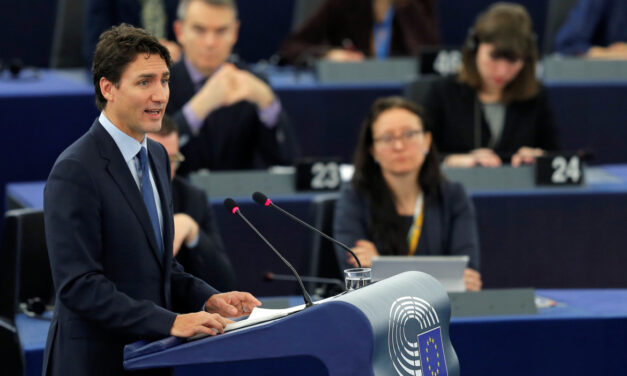 Prime Minister Justin Trudeau speaks to EU after signing controversial trade agreement