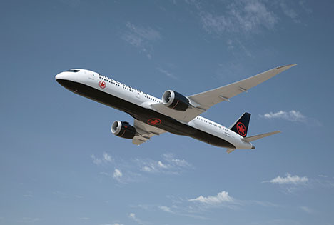 Air Canada Airlines introduces new look