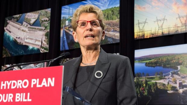 Premier Kathleen Wynne to drop hydro rates 17%