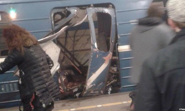 St. Petersburg metro blast kills 10, 50 injured