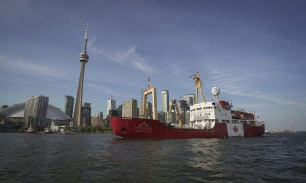 Canada 150 expedition sets sail from Toronto tomorrow