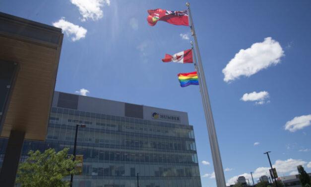 Pride flag now waves at Humber North