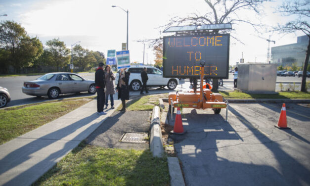 Humber Strike: Day two at Lakeshore campus