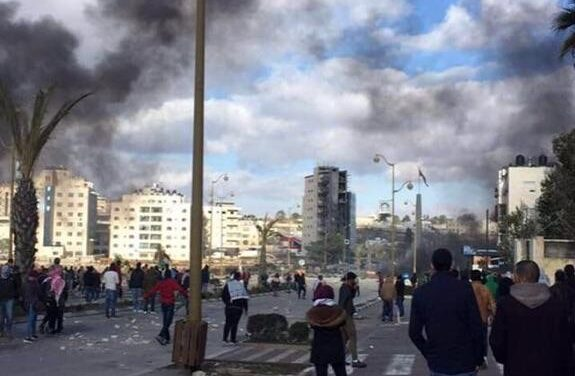 Protests erupt as Israeli-Palestinian conflict is reignited