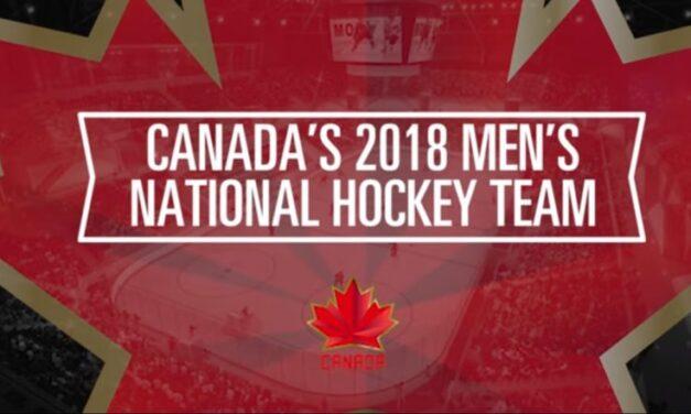 Team Canada announces 25-man Olympic hockey roster