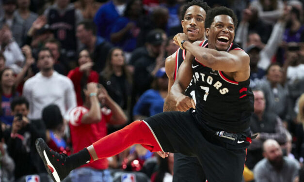 Raptors clinch fastest playoff berth in franchise history