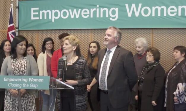 Wynne Announces New 'Pay Transparency' Bill