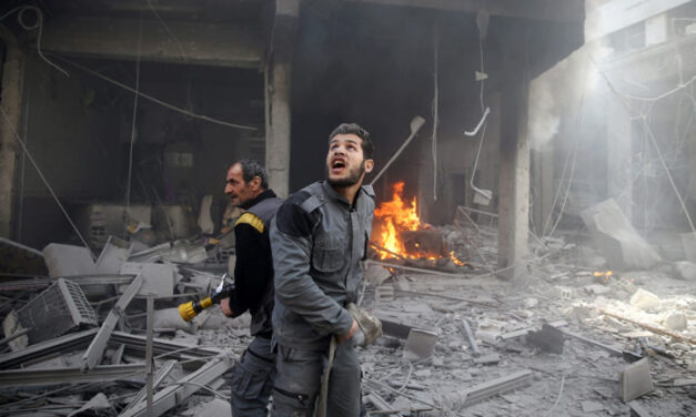 Syrian war escalates while world leaders remain spectators