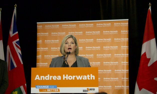 Andrea Horwath wins home riding of Hamilton Centre