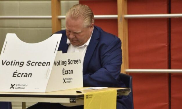 Doug Ford rides blue-wave in Etobicoke North