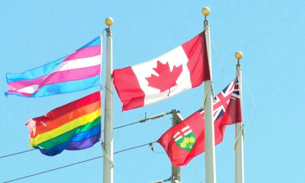 Humber celebrates pride month, raises Trans and Pride flags