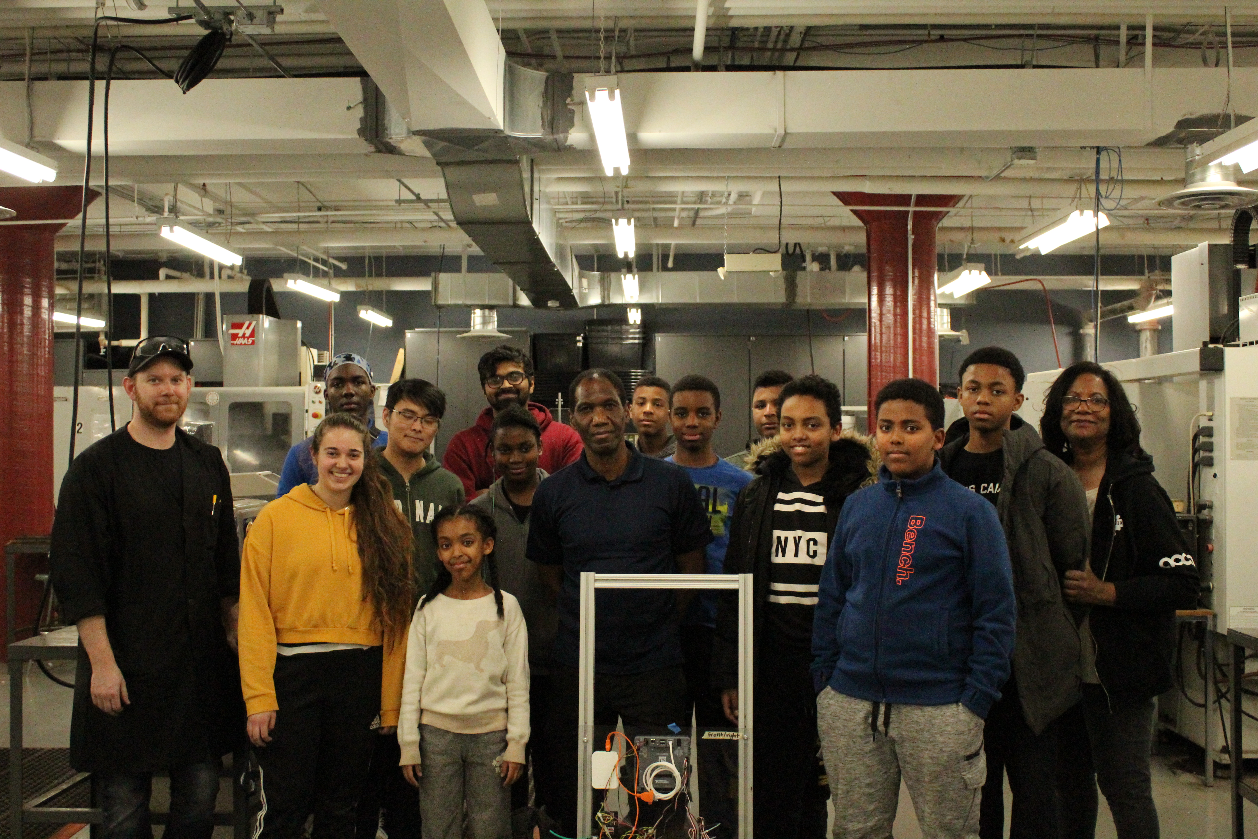 African Canadian Christian community sees robotics event a