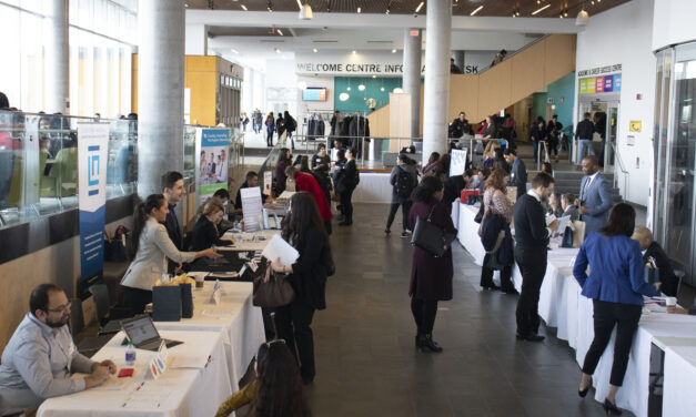 Legalized networking at Humber