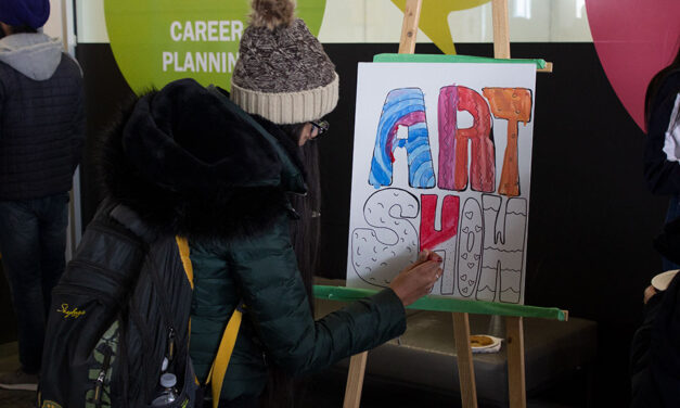 Live painting event promotes upcoming annual Art Show