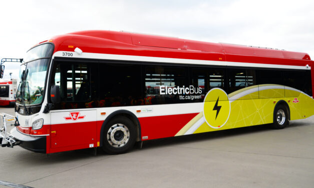 TTC unveils first all-electric bus
