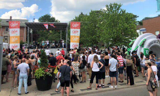 Salsa on St. Clair transformed Toronto into a Latin dance festival