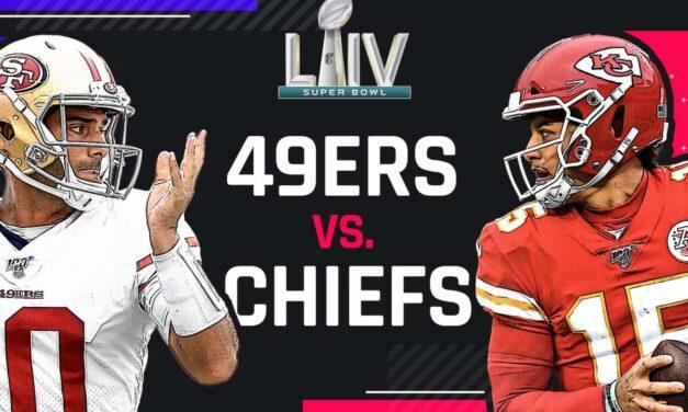 Chiefs vs. 49ers in Super Bowl 54