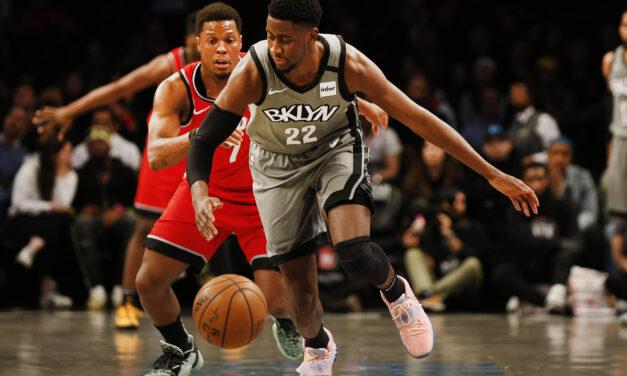 The Brooklyn Nets snapped the Raptors' historic streak