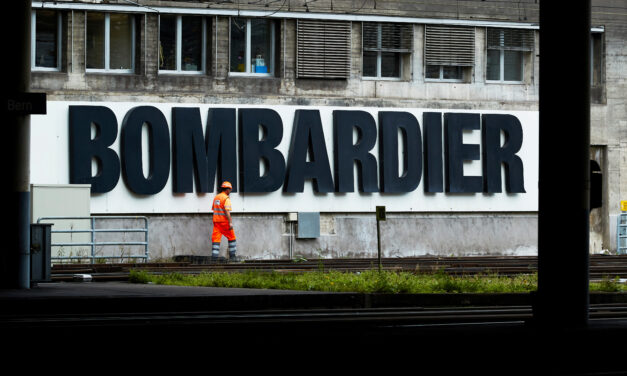 Bombardier — a struggling Canadian giant