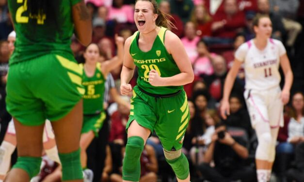 Sabrina Ionescu named the AP National Player of the Year
