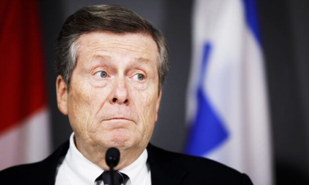 Mayor John Tory announces the launch of task force to help protect the economy