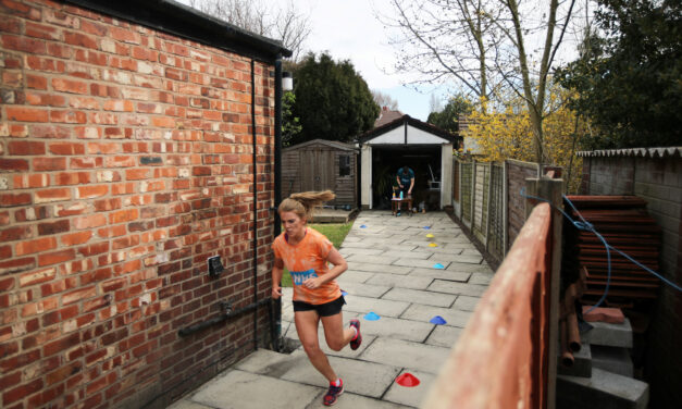 A 40-year old marathon gives hope for others to push forward