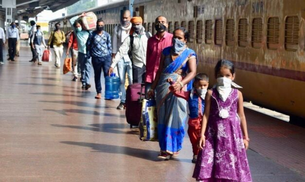 Millions of migrant workers idled by COVID-19 in India finally going home