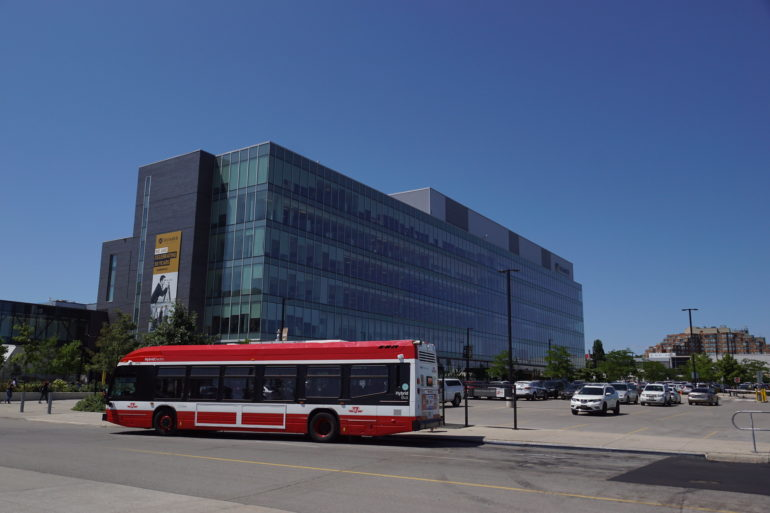 Humber College, North campus is set to resume learning on-campus for six essential programs. (Flickr/ BramptonTransitFan84)