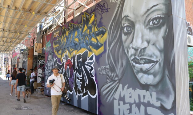 Artists fill Toronto's Graffiti Alley with Black art as sign of protest