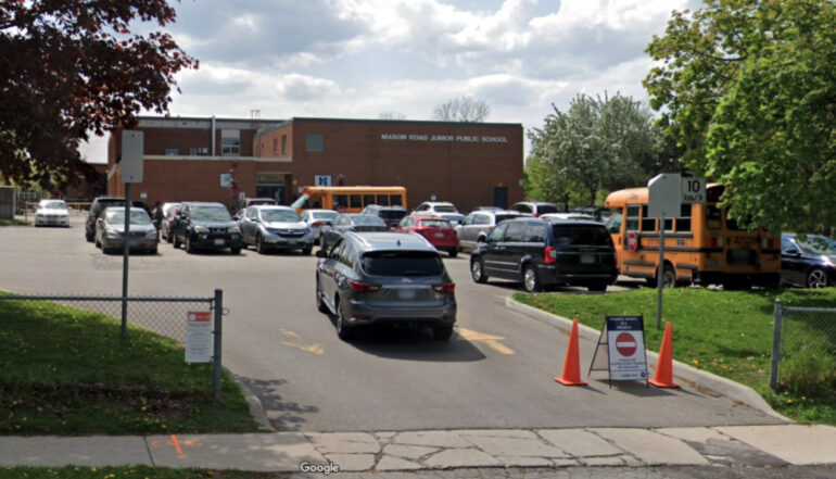 Mason Road Junior Public School is the first in Toronto to close after reporting one student and three teachers with the Virus.