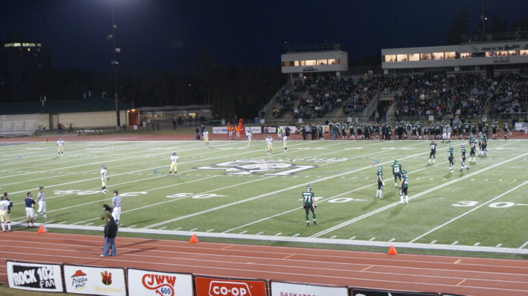 Saskatchewan Huskies Football Field. Taken from Wikipedia
