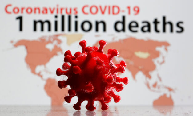 Over 1 million people worldwide have now died from COVID-19