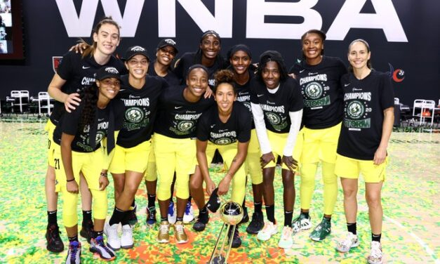Seattle Storm win WNBA Championship in 92-59 victory over Las Vegas