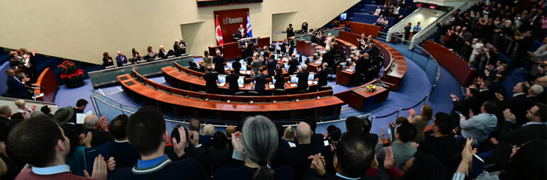 Toronto's city council have approved the new restrictions on bars and restaurants.