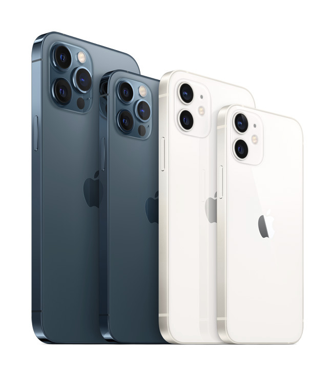 iPhone 12 and iPhone 12 pro models
