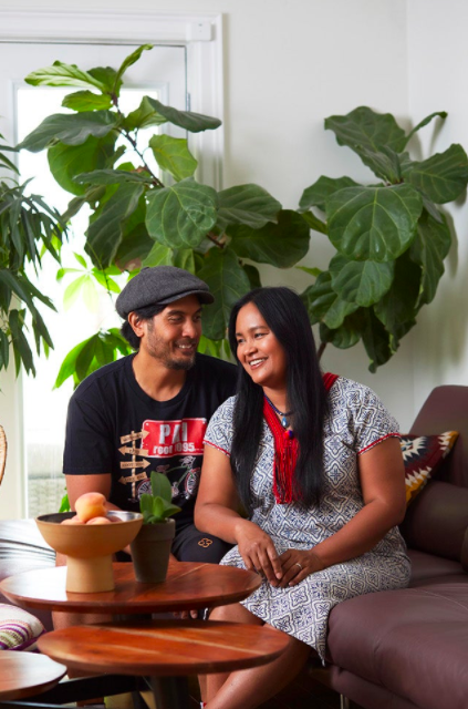 Jeff Regular (left) and his wife, Chef Nuit Regular (right), the co-owners of four downtown-based authentic Thai restaurants. Photo credits: Refinery29.