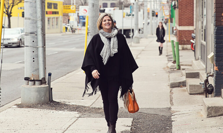 Ontario's opposition and NDP leader, Andrea Horwath in downtown Hamilton. The government's proposed changes would see the NDP, its official opposition, receive almost $5 million for campaigning in 2022.