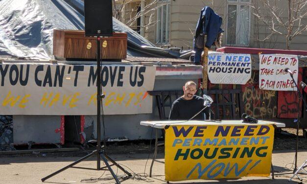 Homeless encampment residents reject city's relocation program