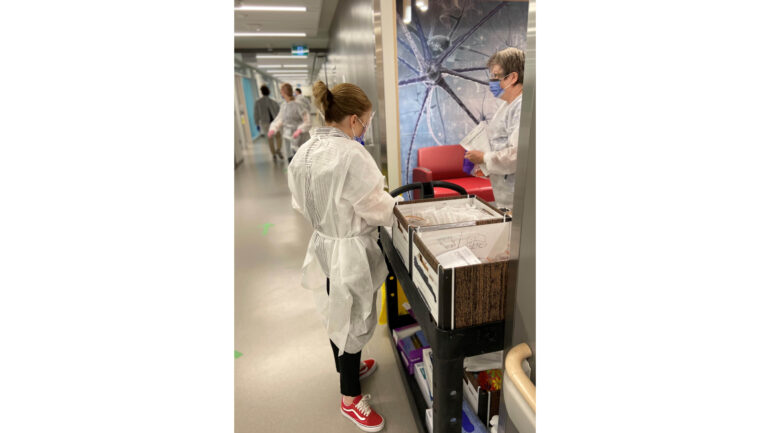 On-campus study of COVID-19 antibodies at Queen's University. The results are hoped to allow safely getting back to in-person learning.