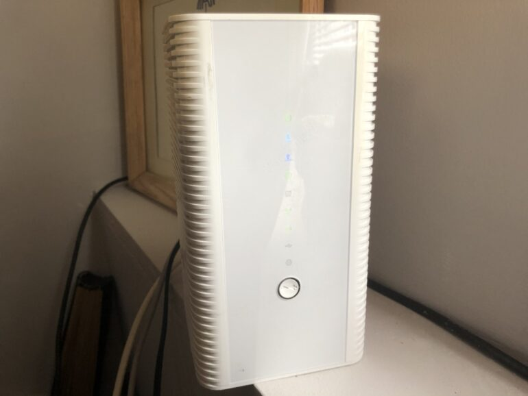 This is a modem that is used for internet access throughout a home.