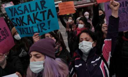 Turkish women protest Erdogan's decision to leave Istanbul Convention