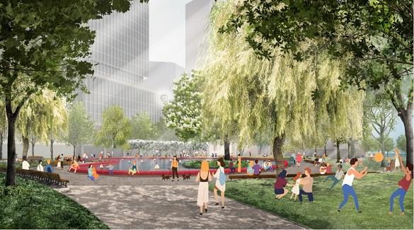 Toronto loves Love Park