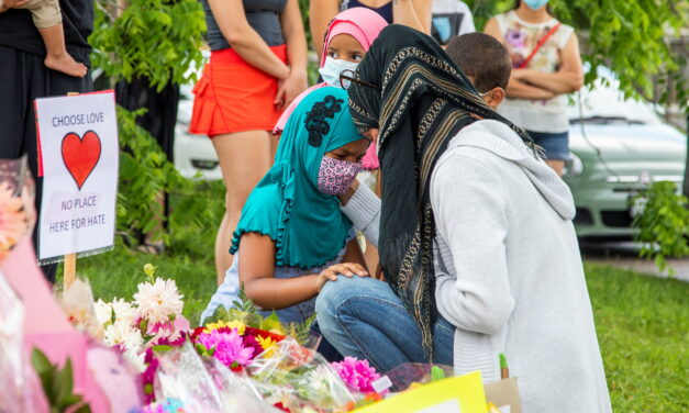 Muslim communities call for action while mourning family killed in hate attack